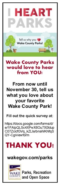 Wake County Parks and Open Space long term